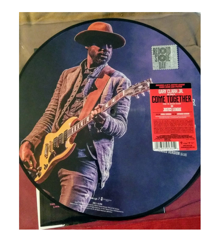 "Gary Clark Jr., Junkie XL - Come Together (12"", Single, Ltd, Pic, S/Edition, Pos) mesvinyles.fr"