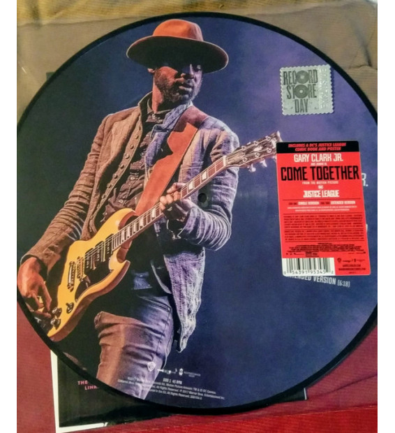 "Gary Clark Jr., Junkie XL - Come Together (12"", Single, Ltd, Pic, S/Edition, Pos) mesvinyles.fr"