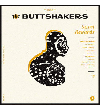 The Buttshakers - Sweet Rewards (LP, Album, Whi) BLACK FRIDAY 2019 mesvinyles.fr