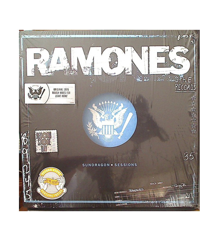 Ramones - Sundragon Sessions (LP, Album, Ltd, Num) mesvinyles.fr