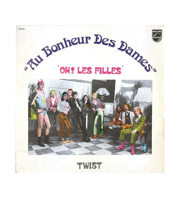 Au Bonheur Des Dames - Oh Les Filles / Twist (LP, Album, RP) mesvinyles.fr