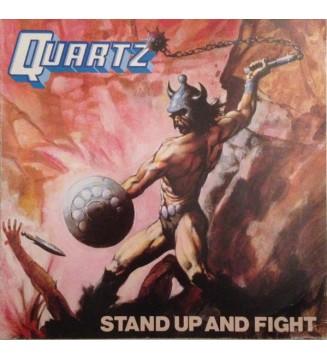 Quartz (10) - Stand Up And Fight (LP, Album) mesvinyles.fr
