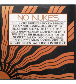 Various - No Nukes - From The Muse Concerts For A Non-Nuclear Future - Madison Square Garden - September 19-23, 1979 (3xLP, Alb
