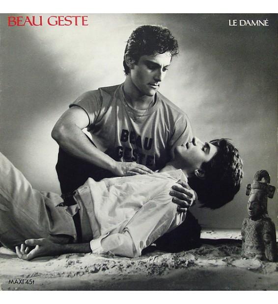 """Beau Geste (2) - Le Damné (12"""", Maxi) mesvinyles.fr"""