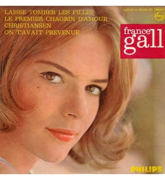 """France Gall - Laisse Tomber Les Filles (4e Série) (7"""", EP, Mono)"""