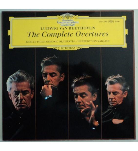Ludwig van Beethoven, Berliner Philharmoniker, Herbert von Karajan - The Complete Overtures (2xLP)