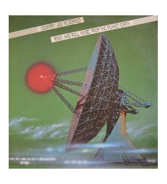 Country Joe McDonald - Rock And Roll Music From The Planet Earth (LP, Album) mesvinyles.fr