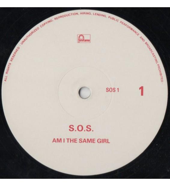 "S.O.S.* - Am I The Same Girl (12"", Ltd, Promo) mesvinyles.fr"
