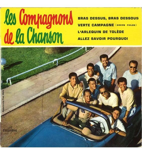 """Les Compagnons De La Chanson - Bras Dessus, Bras Dessous (7"""", EP, Mono) mesvinyles.fr"""
