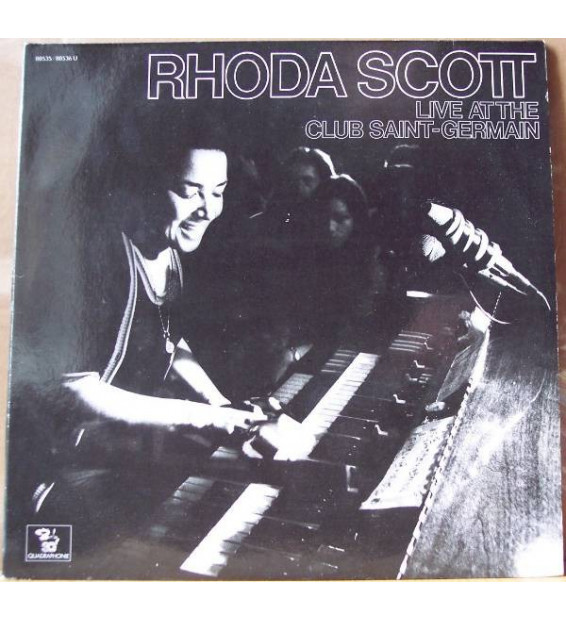Rhoda Scott - Live At The Club Saint-Germain (2xLP, Album, SQ )