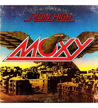 Moxy (2) - Ridin' High (LP, Album, San) mesvinyles.fr