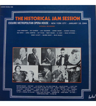 Various - The Historical Jam Session (2xLP)