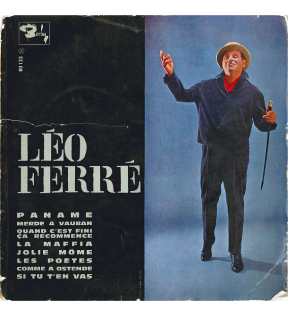 "Léo Ferré - Léo Ferré (10"", Album, Mono, Gat)"