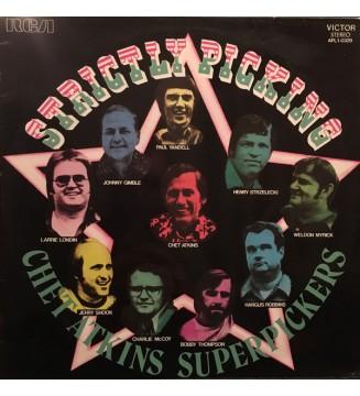 Chet Atkins - Strictly Picking (LP, Album) mesvinyles.fr