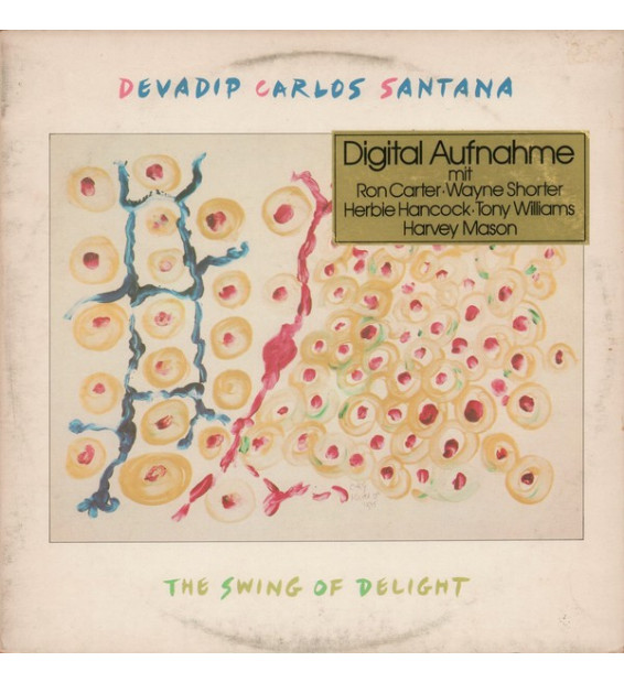 Devadip Carlos Santana - The Swing Of Delight (2xLP, Gat)