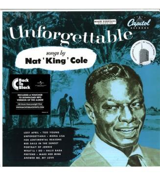 Nat King Cole - Unforgettable (LP, Album, RE, 180) mesvinyles.fr