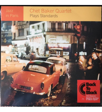 Chet Baker Quartet - Plays Standards (LP, RE)