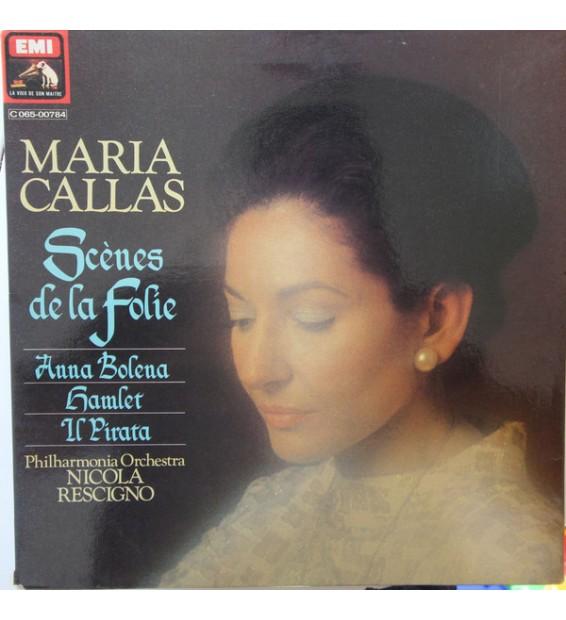 Maria Callas - Scènes de la Folie : Anna Bolena - Hamlet - Il Pirata (LP, Album, gat) mesvinyles.fr