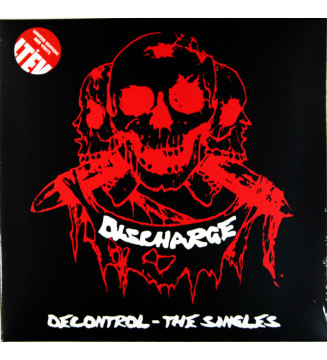 Discharge - Decontrol - The Singles (2xLP, Comp, Ltd, RE, Red) mesvinyles.fr