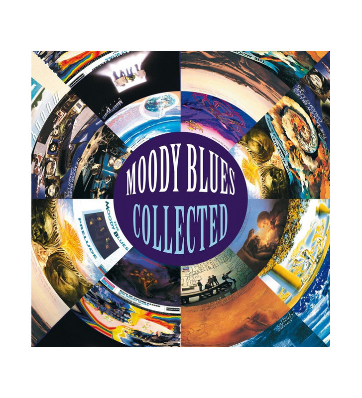 Moody Blues* - Collected (2xLP, Comp, 180) mesvinyles.fr