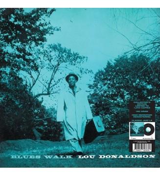 Lou Donaldson - Blues Walk (LP, Album, Mono, Ltd, RE)