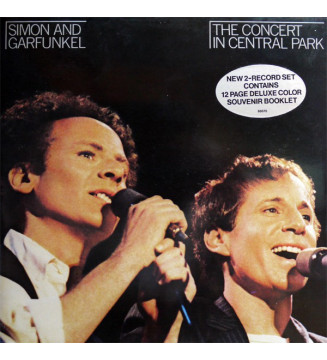Simon And Garfunkel* - The Concert In Central Park (2xLP, Album, Gat)