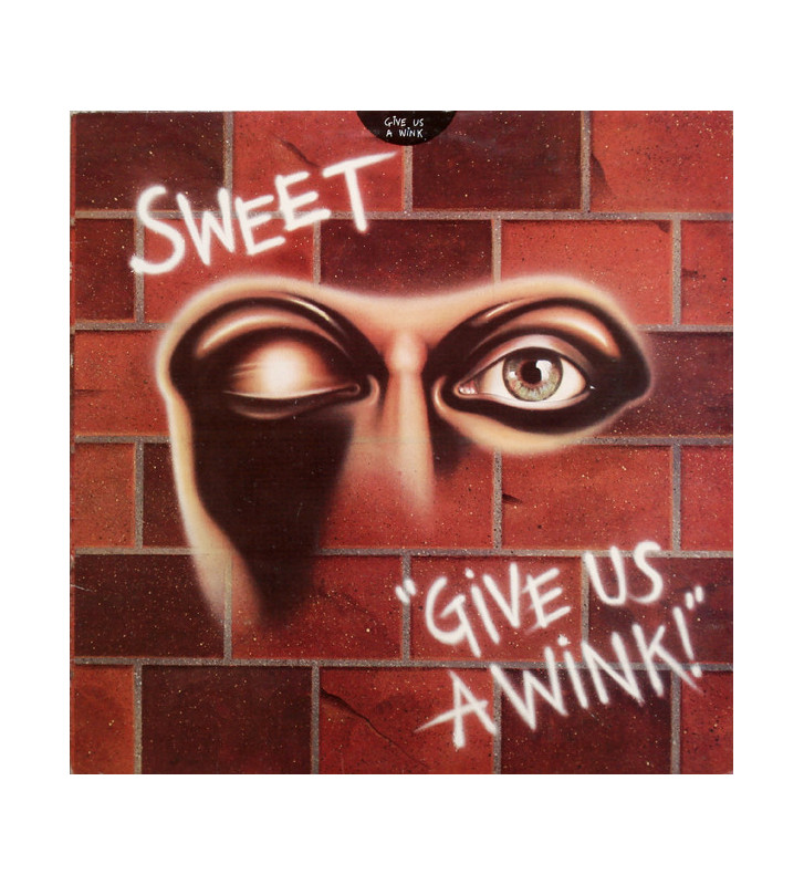 Sweet* - Give Us A Wink (LP, Album) mesvinyles.fr