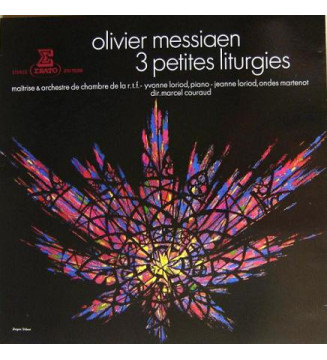 Olivier Messiaen - 3 Petites Liturgies (LP, Album, RE) mesvinyles.fr