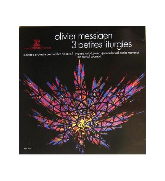 Olivier Messiaen - 3 Petites Liturgies (LP, Album, RE) mesvinyles.fr