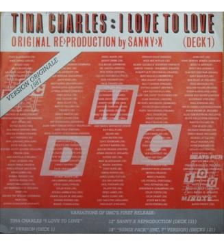 "Tina Charles - I Love To Love (7"")"