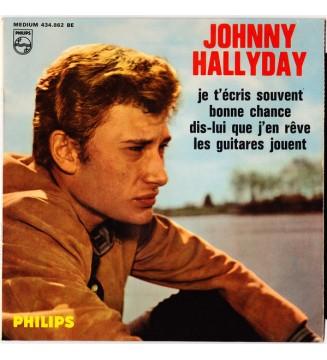 """Johnny Hallyday - Dis-Lui Que J'En Rêve (7"""", EP, Mono)"""
