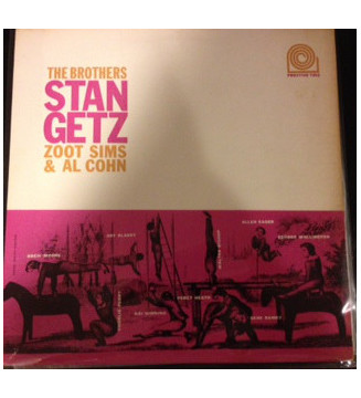 Stan Getz, Zoot Sims & Al Cohn - The Brothers (LP, Album, Mono, RE) mesvinyles.fr
