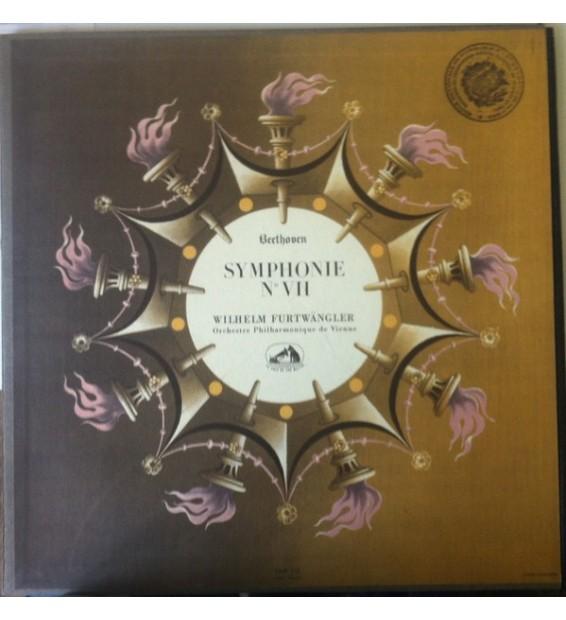 Beethoven* - Orchestre Philharmonique de Vienne* , Direction: Wilhelm Furtwangler* - 7eme Symphonie En La Majeur Op. 92 (LP, Al
