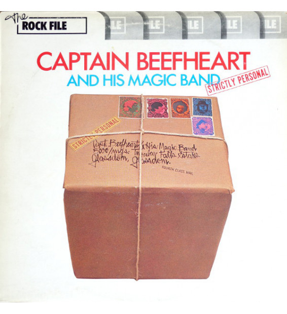 Captain Beefheart And His Magic Band - Strictly Personal (LP, Album) mesvinyles.fr
