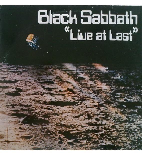 Black Sabbath - Live At Last (LP, Album) mesvinyles.fr