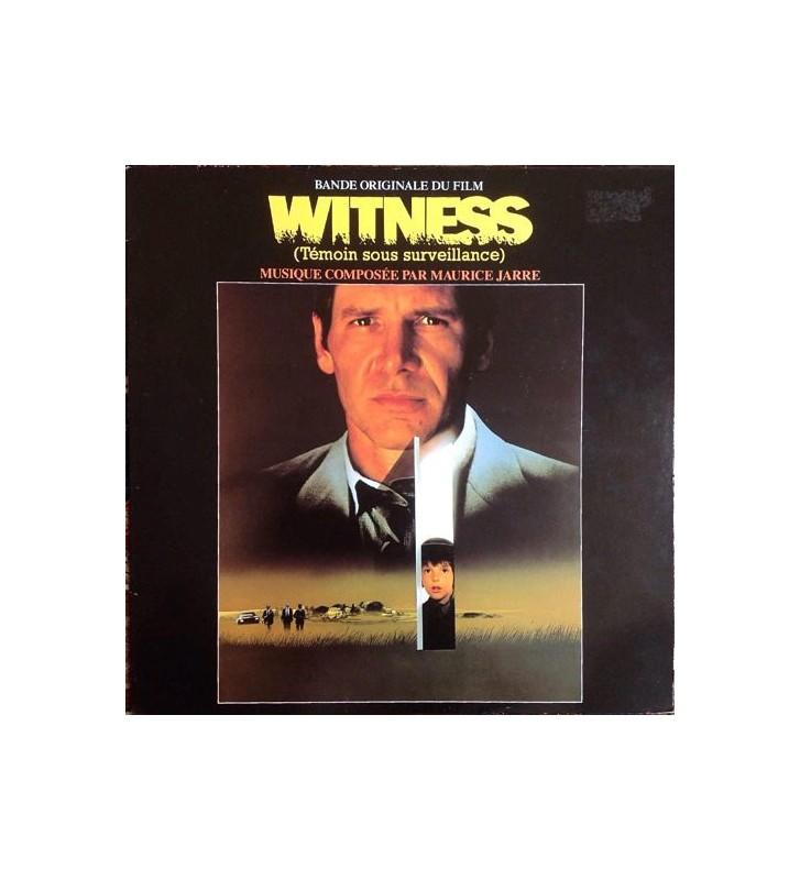 Maurice Jarre - Witness (Témoin Sous Surveillance) Bande Originale Du Film (LP, Album) mesvinyles.fr