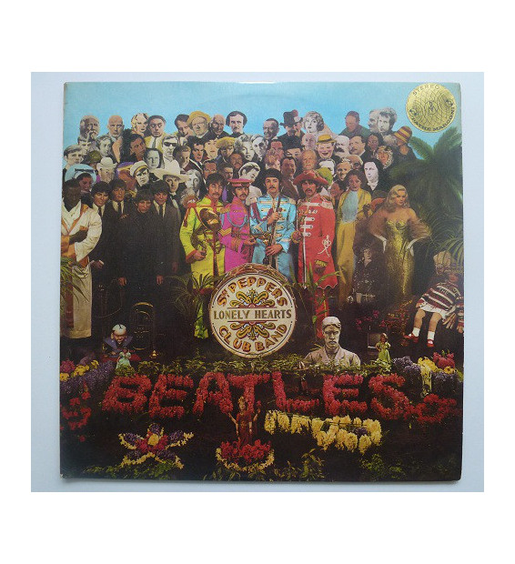 The Beatles - Sgt. Pepper's Lonely Hearts Club Band (LP, Album) mesvinyles.fr