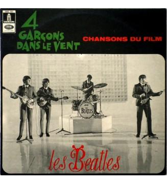 Les Beatles* - 4 Garçons Dans Le Vent (LP, Album, RE)