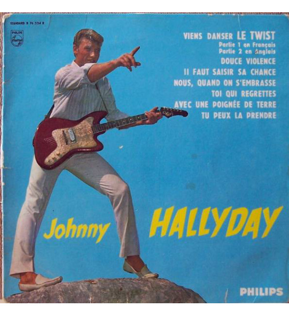"Johnny Hallyday - Viens Danser Le Twist (10"", Album, Mono)"