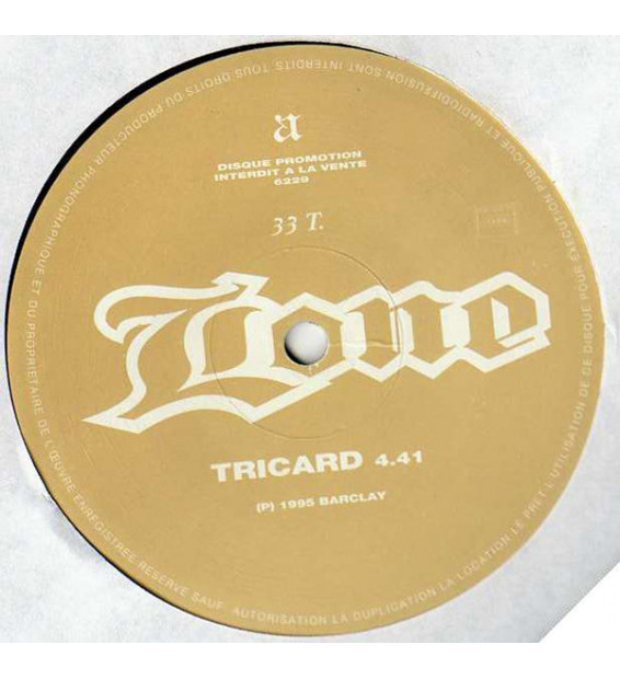 "Lone - Tricard (12"", Promo) mesvinyles.fr"