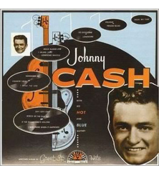 Johnny Cash - With His Hot And Blue Guitar (LP, Album, RE)