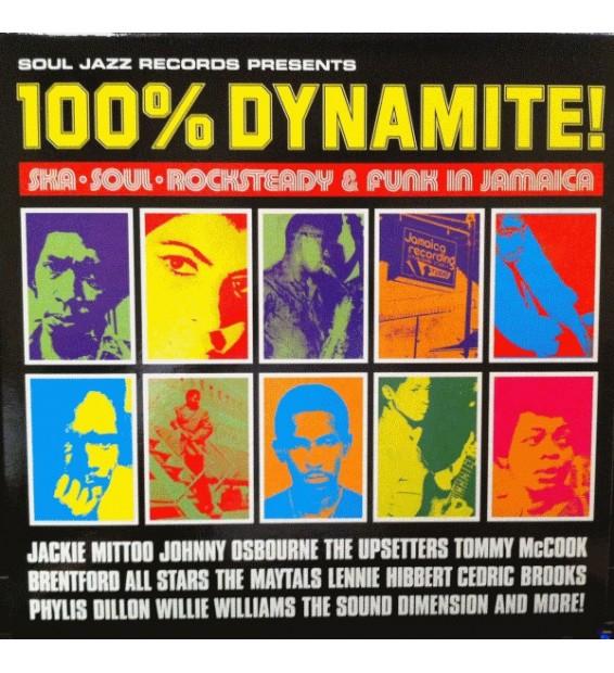 Various - 100% Dynamite! (2xLP, Comp) mesvinyles.fr