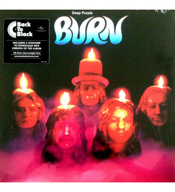 Deep Purple - Burn (LP, Album, RE, RM) mesvinyles.fr