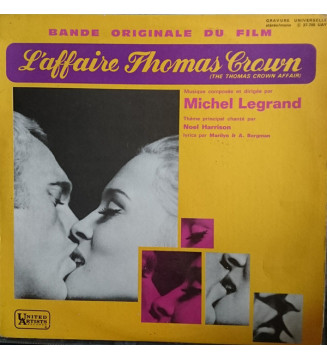 Michel Legrand - The Thomas Crown Affair (Original Motion Picture Score) (LP, Album, Mono)