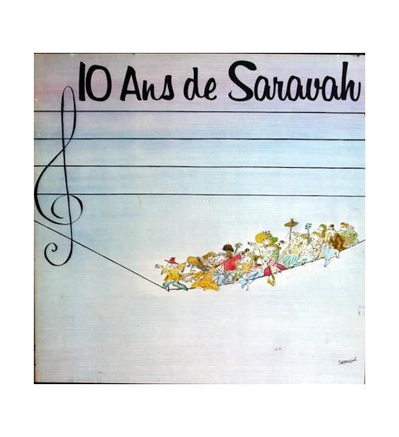 Various - 10 Ans De Saravah (4xLP, Comp + Box) mesvinyles.fr