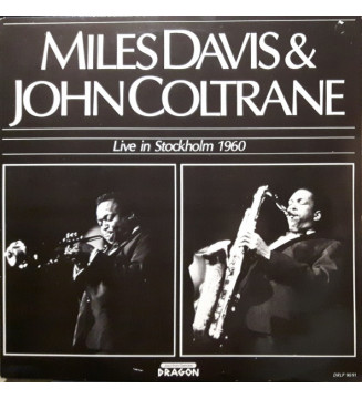 Miles Davis & John Coltrane - Live In Stockholm 1960 (2xLP, Album, Mono)