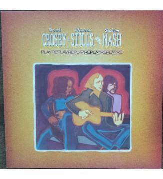 Crosby, Stills & Nash - Replay (LP, Comp) mesvinyles.fr
