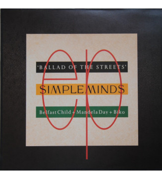 """Simple Minds - Ballad Of The Streets (12"""")"""