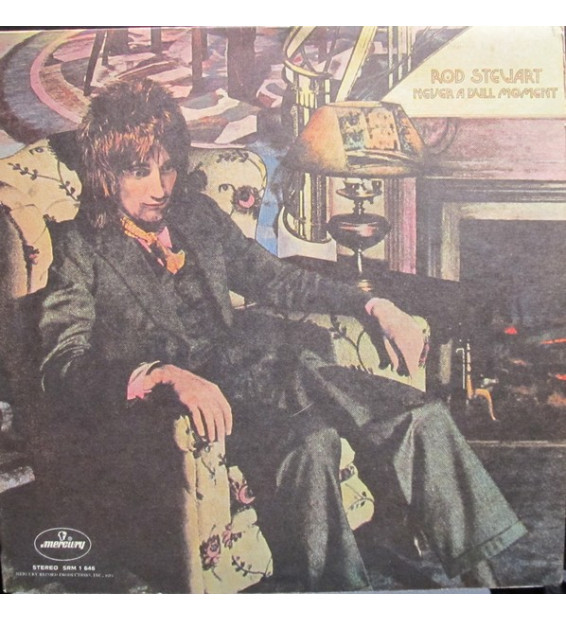 Rod Stewart - Never A Dull Moment (LP, Album) mesvinyles.fr