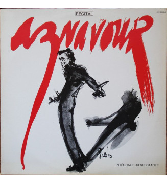 Aznavour* - Récital - Intégrale Du Spectacle (2xLP, Album)